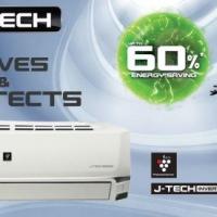 Dòng Điều Hòa J-Tech Inverter Mới Của Sharp